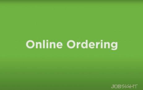 Online Ordering Tutorial